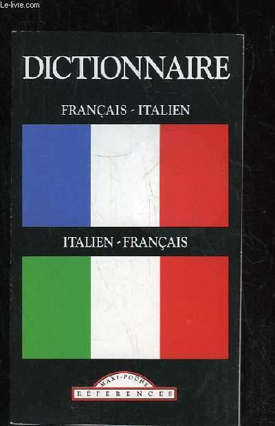 DICTIONNAIRE FRANCAIS ITALIEN. ITALIEN FRANCAIS.
