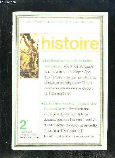 HISTOIRE 2e.