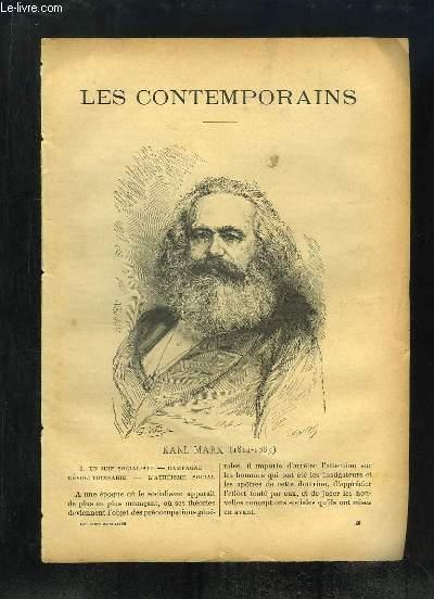 LES CONTEMPORAINS. KARL MARX 1814 - 1883.