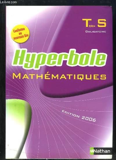 MATHEMATIQUES TERMINAL S OBLIGATOIRE. PROGRAMME 2002. SPECIMEN