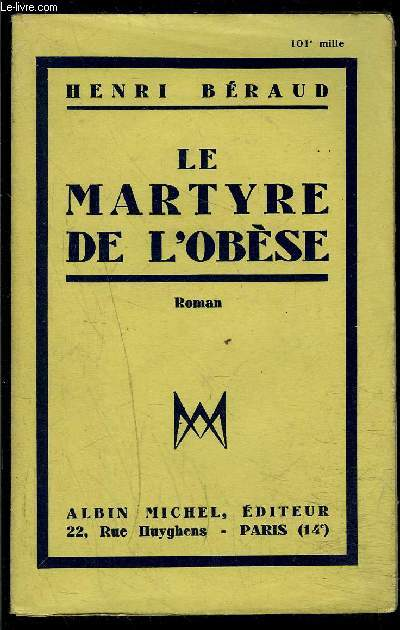 LE MARTYRE DE L OBESE