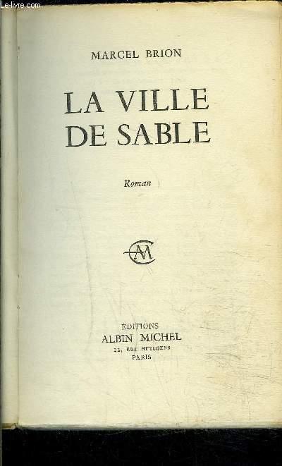 LA VILLE DE SABLE