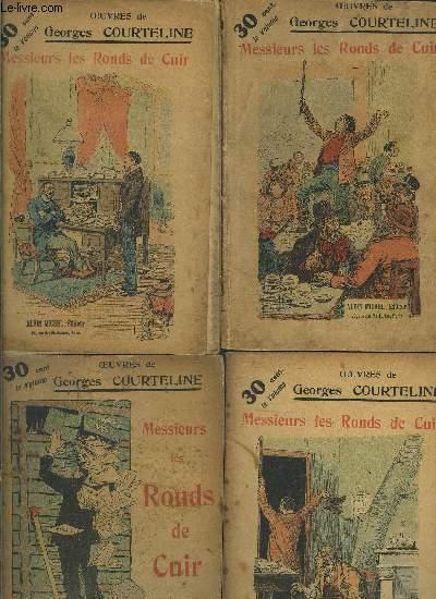 MESSIEURS LES RONDS DE CUIR- 4 TOMES EN 4 VOLUMES- TOME 15 A 18