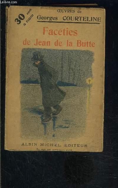 FACETIES DE JEAN DE LA BUTTE - TOME 24