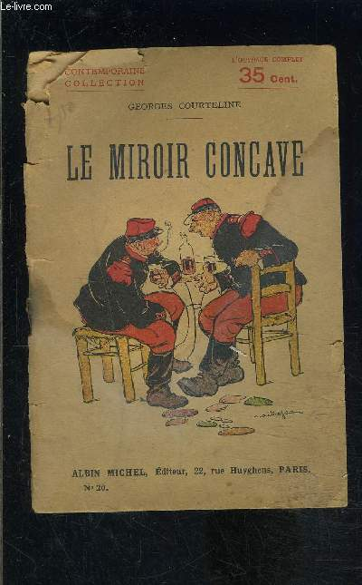 LE MIROIR CONCAVE - TOME 20