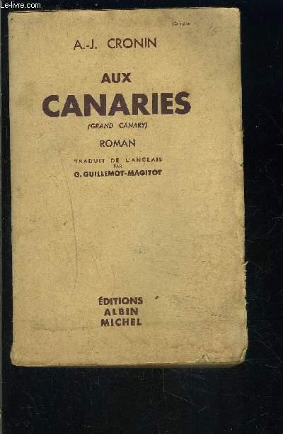 AUX CANARIES