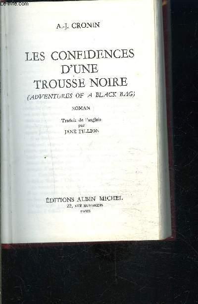 LES CONFIDENCES D UNE TROUSSE NOIRE
