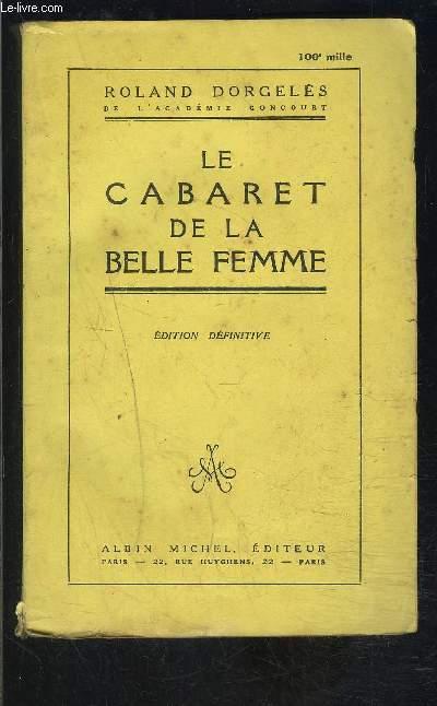 LE CABARET DE LA BELLE FEMME