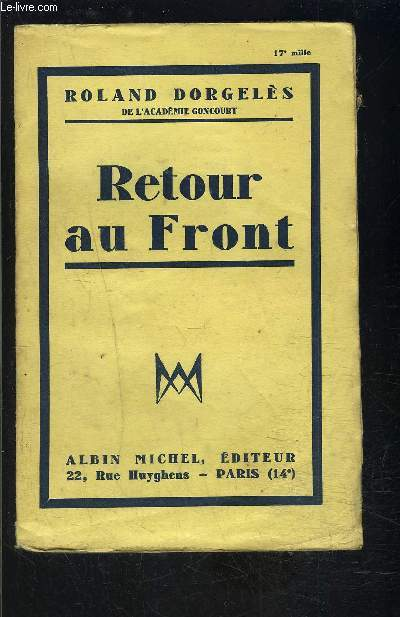 RETOUR AU FRONT