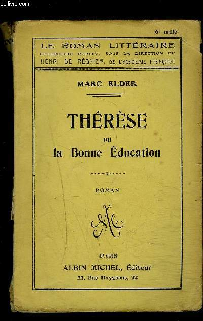 THERESE OU LA BONNE EDUCATION