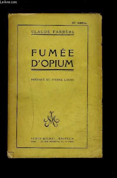 FUMEE D OPIUM