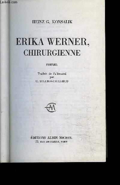 ERIKA WERNER CHIRURGIENNE