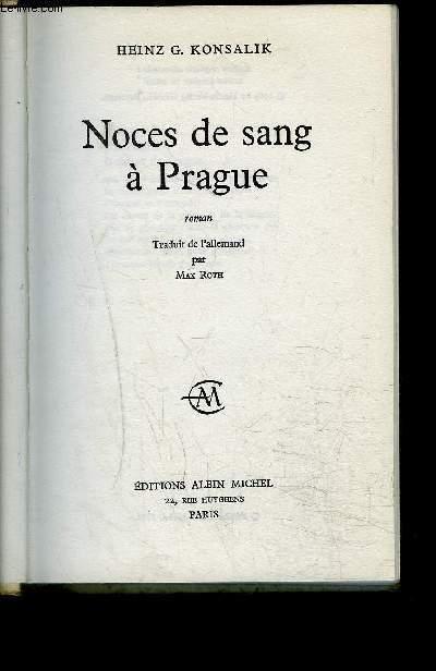 NOCES DE SANG A PRAGUE