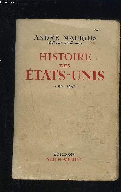 HISTOIRE DES ETATS UNIS- 1492-1946