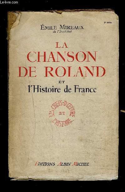 LA CHANSON DE ROLAND ET L HISTOIRE DE FRANCE