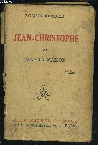 JEAN CHRISTOPHE- TOME 7- DANS LA MAISON