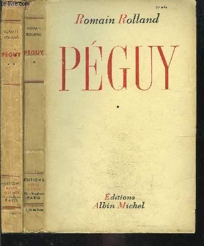 PEGUY - 2 TOMES EN 2 VOLUMES
