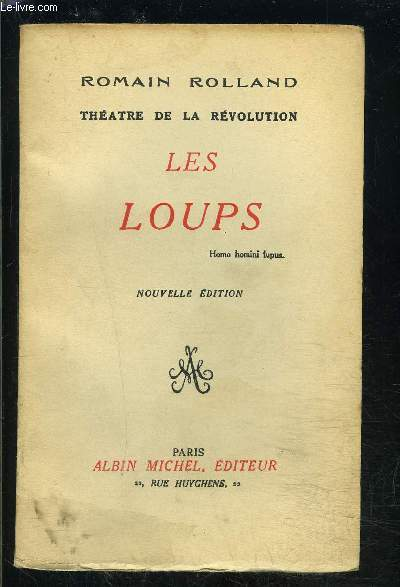 THEATRE DE LA REVOLUTION- LES LOUPS