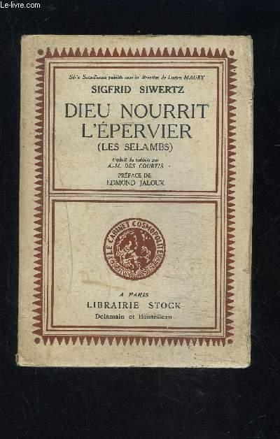 DIEU NOURRIT L EPREVIER