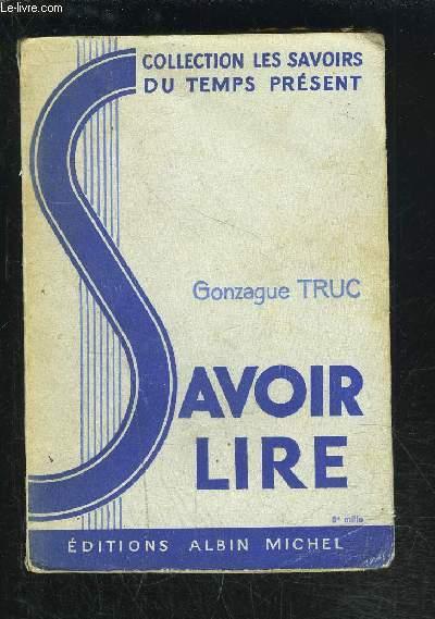 SAVOIR LIRE