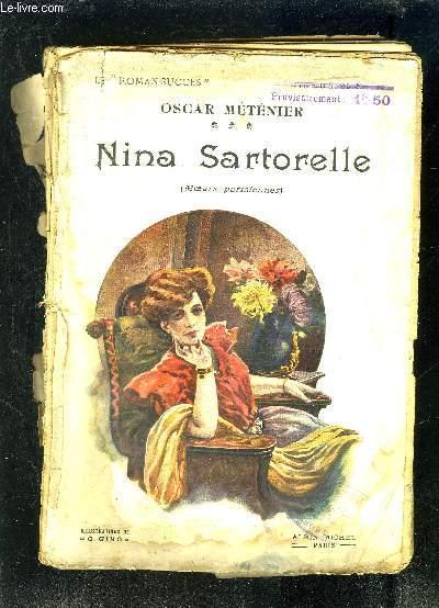 NINA SARTORELLE- MOEURS PARISIENNES