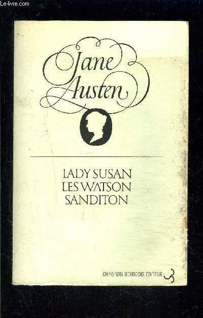 LADY SUSAN- LES WATSON- SANDITON