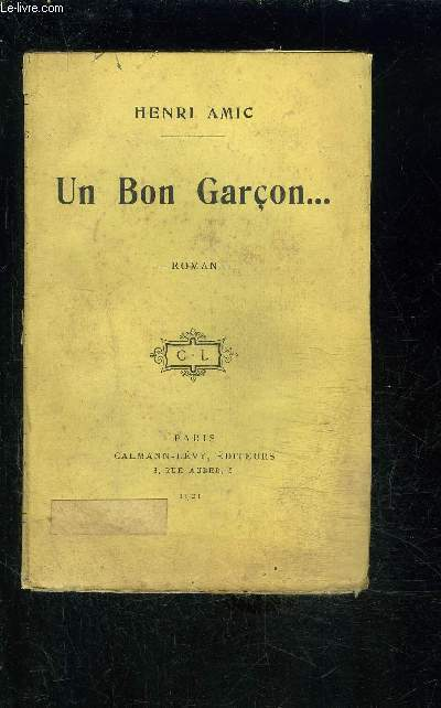 UN BON GARCON...