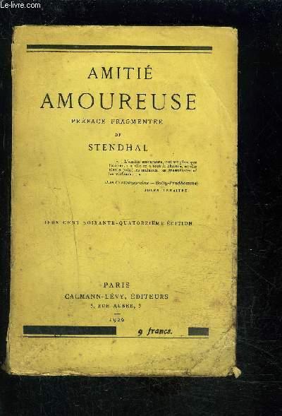 AMITIE AMOUREUSE