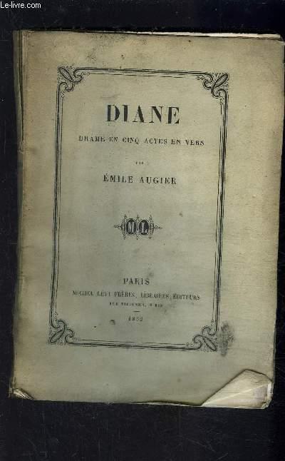 DIANE- DRAME EN 5 ACTES EN VERS- VENDU EN L ETAT