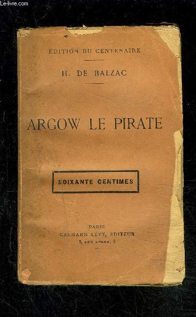 ARGOW LE PIRATE