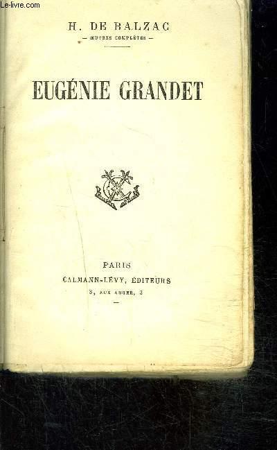 EUGENIE GRANDET- SCENES DE LA VIE DE PROVINCE