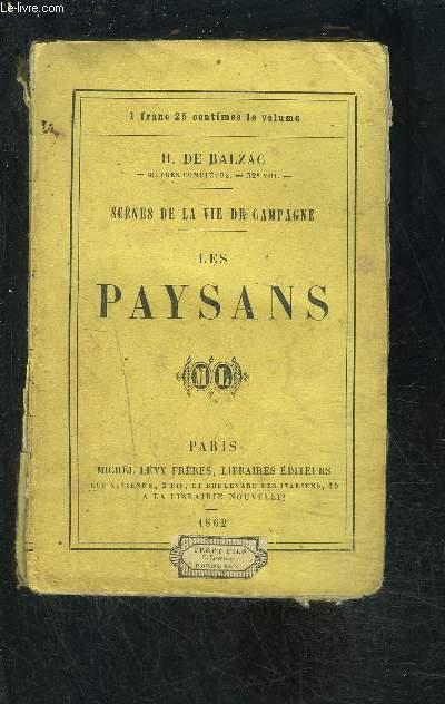 LES PAYSANS- SCENES DE LA VIE DE CAMPAGNE