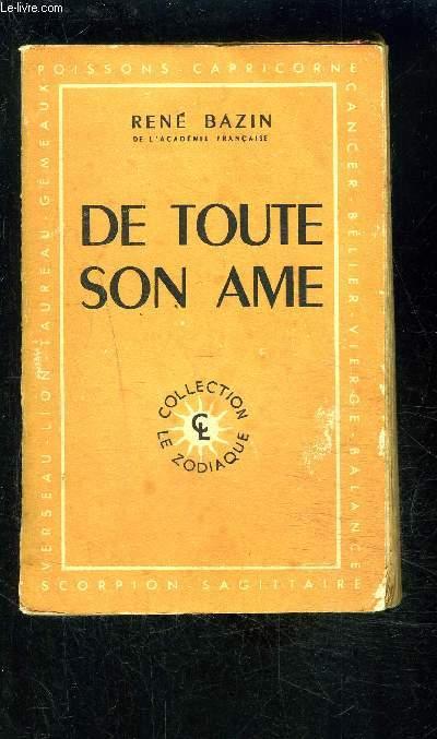 DE TOUTE SON AME- COLLECTION LE ZODIAQUE