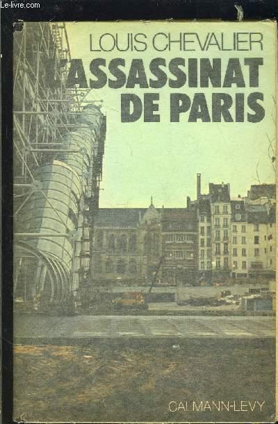 ASSASSINAT DE PARIS