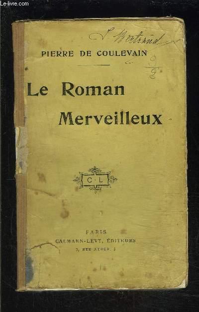 LE ROMAN MERVEILLEUX