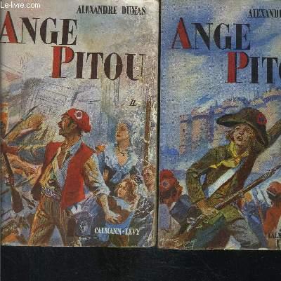 ANGE PITOU- 2 TOMES EN 2 VOLUMES
