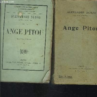 L ANGE PITOU- 2 TOMES EN 2 VOLUMES