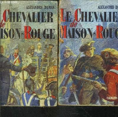 LE CHEVALIER DE MAISON ROUGE- 2 TOMES EN 2 VOLUMES