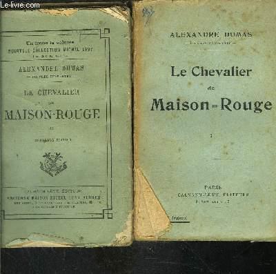 LE CHEVALIER DE MAISON ROUGE- 2 TOMES EN 2 VOLUMES- VENDU EN L ETAT