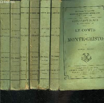LE COMTE DE MONTE CRISTO- 6 TOMES EN 6 VOLUMES