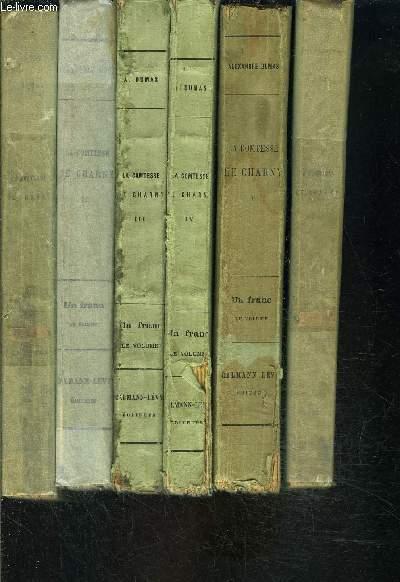LA COMTESSE DE CHARNY- 6 TOMES EN 6 VOLUMES