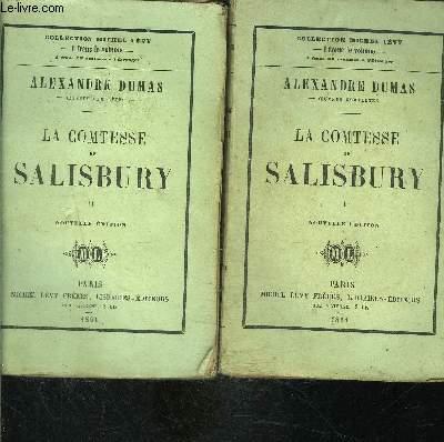 LA COMTESSE DE SALISBURY- 2 TOMES EN 2 VOLUMES