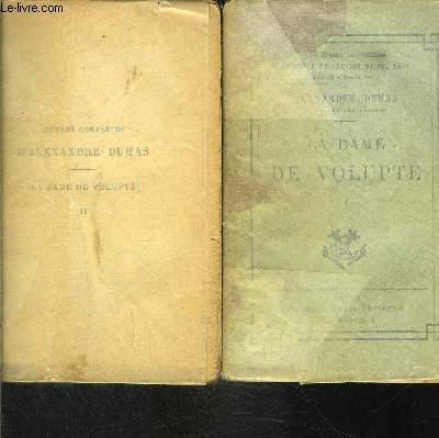 LA DAME DE VOLUPTE- 2 TOMES EN 2 VOLUMES- MEMOIRES DE Mlle DE LUYNES