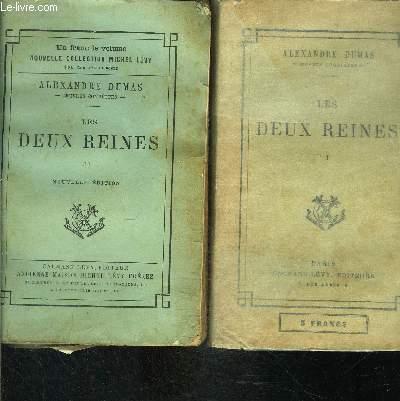 LES DEUX REINES- 2 TOMES EN 2 VOLUMES- SUITE ET FIN DES MEMOIRES DE Mlle DE LUYNES