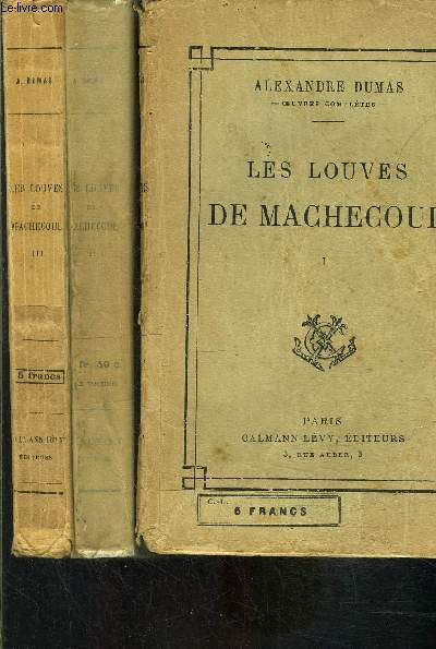 LES LOUVES DE MACHECOUL- 3 TOMES EN 3 VOLUMES