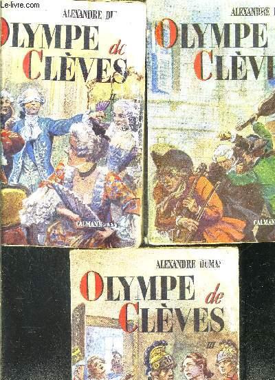 OLYMPE DE CLEVES- 3 TOMES EN 3 VOLUMES
