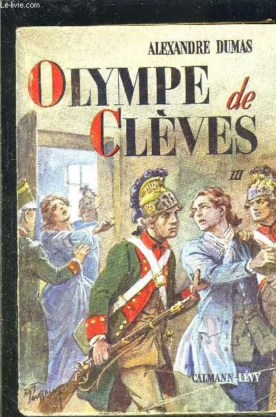 OLYMPE DE CLEVES TOME 3 vendu seul