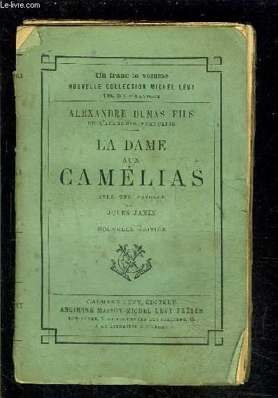 LA DAME AUX CAMELIAS- VENDU EN L ETAT