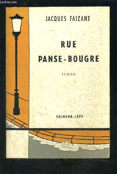 RUE PANSE BOUGRE