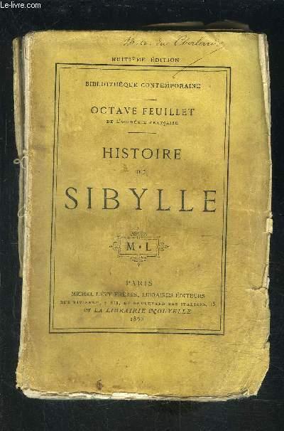 HISTOIRE DE SIBYLLE- VENDU EN L ETAT